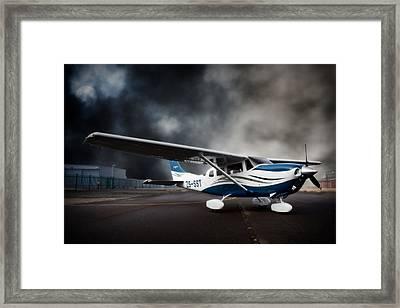 Cessna Ground Framed Print by Paul Job