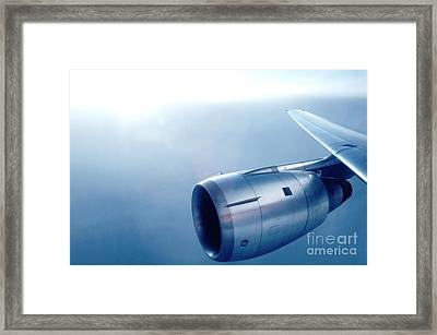 Cf6-6 Jet Engine For A Dc-10 Framed Print by Wernher Krutein