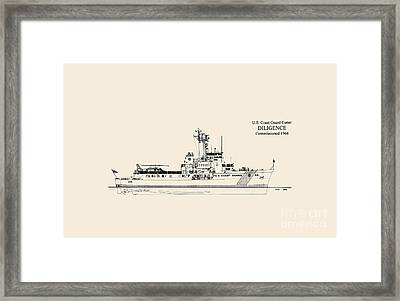 C G C  Diligence  Framed Print by Jerry McElroy - Public Domain Image