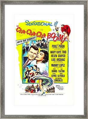 Cha-cha-cha Boom, Us Poster Art Framed Print by Everett