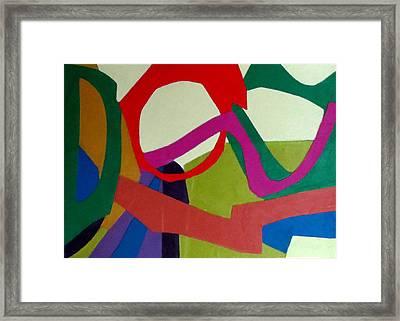Cha Cha Framed Print by Diane Fine