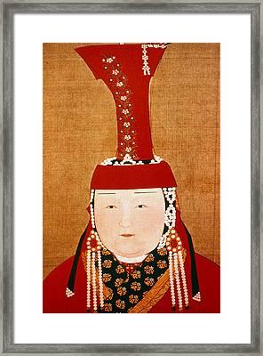 Chabi (1227-1281) Framed Print by Granger