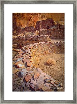 Chaco Ruins #1 Framed Print by Inge Johnsson