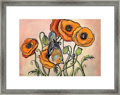 Chaffinch Framed Print by Helen Bennett