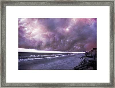 Chain Of Events Framed Print by Betsy Knapp