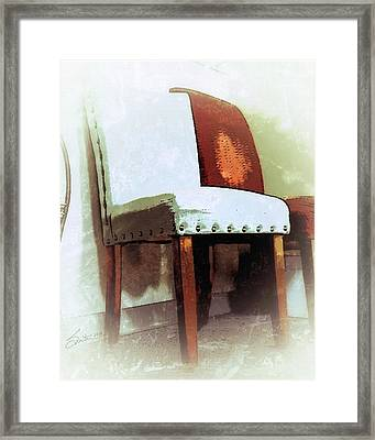 Chairs Framed Print by Robert Smith