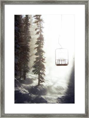 Chairway To Heaven Framed Print by Kevin Munro