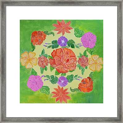 Chaitra Mandala Framed Print by Sonali Gangane