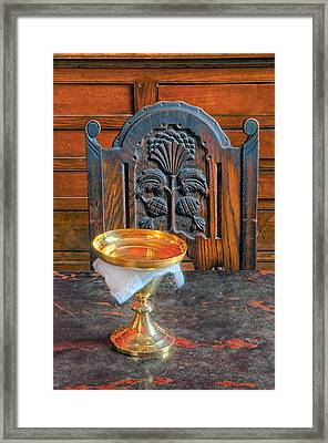 Chalice Framed Print by Dave Mills
