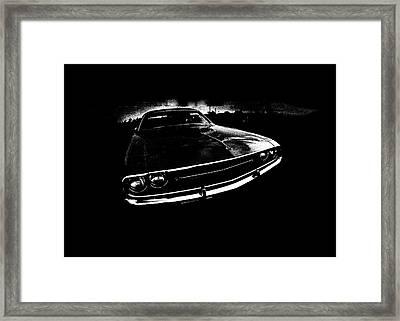 Challenger Framed Print by Mark Rogan