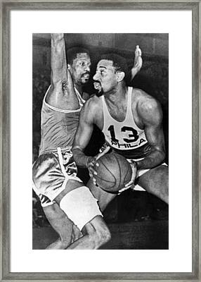 Chamberlain Versus Russell Framed Print by Underwood Archives