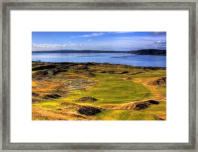 Chambers Bay Golf Course II Framed Print by David Patterson
