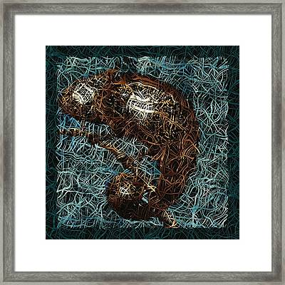 Chameleon - Fb0102b Framed Print by Variance Collections