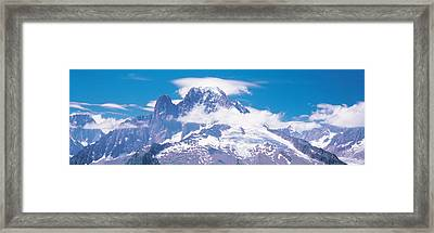 Chamonix France Framed Print by Panoramic Images