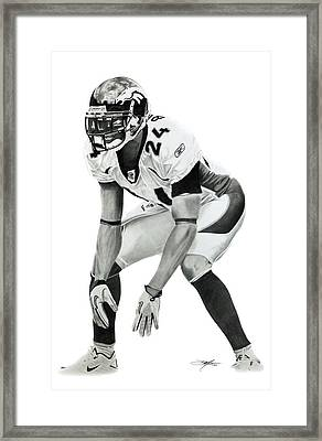 Champ Framed Print by Don Medina
