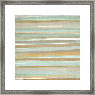 Champagne And Gold Framed Print by Lourry Legarde