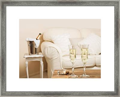 Champagne Framed Print by Amanda And Christopher Elwell