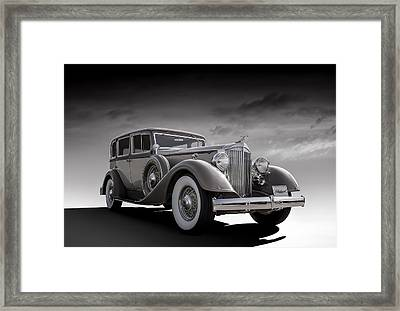 Champagne Cruise Framed Print by Douglas Pittman