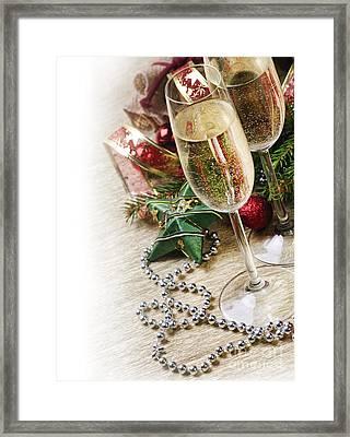 Champagne Framed Print by Jelena Jovanovic