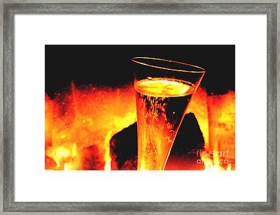 Champagne Wishes Framed Print by Jerome Stumphauzer