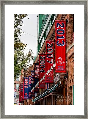 Champs Again Framed Print by Mike Ste Marie