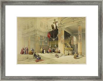 Chancel Of The Church Of St. Helena Framed Print by David Roberts