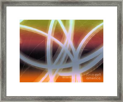 Chandelier Framed Print by Luc  Van de Steeg