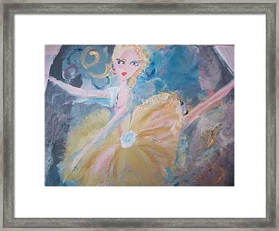 Changement Ballet Framed Print by Judith Desrosiers