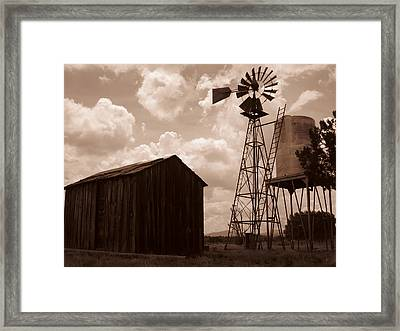 Changes Framed Print by Shaun Ndeanna