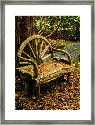 Changing Of The Seasons Framed Print by Jordan Blackstone