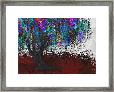 Changing Tree Framed Print by Jack Zulli