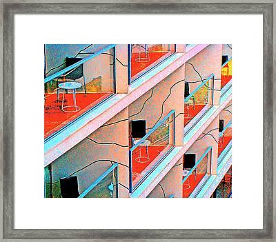 Channeling Mondrian  Framed Print by Ira Shander