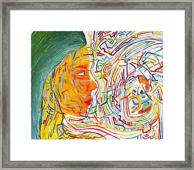 Chaos Conduit Framed Print by Maxwell Hanson