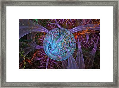 Chaos Framed Print by Rhonda Barrett