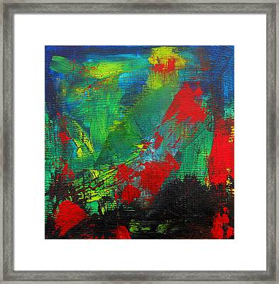 Chaotic Hope Framed Print by Patricia Awapara