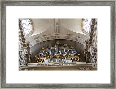 Chapel At Les Invalides - Paris France - 01133 Framed Print by DC Photographer