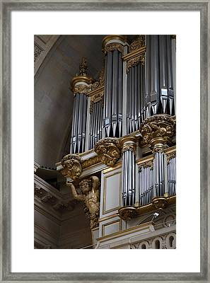 Chapel At Les Invalides - Paris France - 01135 Framed Print by DC Photographer