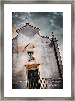 Chapel Facade Framed Print by Carlos Caetano