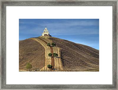 Chapel Hill Framed Print by Donna Kennedy