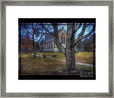 Chapel Framed Print by Jim Wright