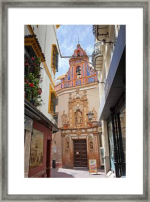 Chapel Of St. Joseph Of Seville Framed Print by Artur Bogacki