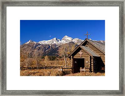 Chapel Of The Transfiguration Framed Print by Greg Norrell
