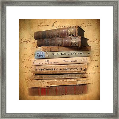 Chapter And Verse Framed Print by Jessica Jenney