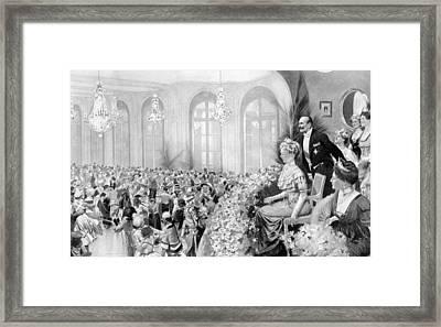 Charity Ball, 1911 Framed Print by Granger