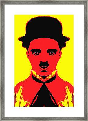 Charles Chaplin Charlot Alias Framed Print by Art Cinema Gallery