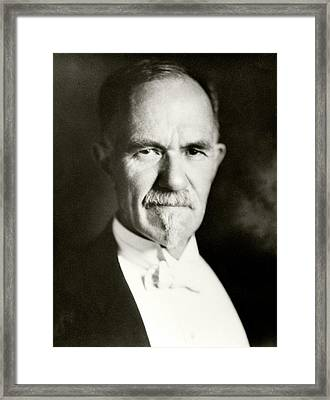 Charles Davenport Framed Print by American Philosophical Society
