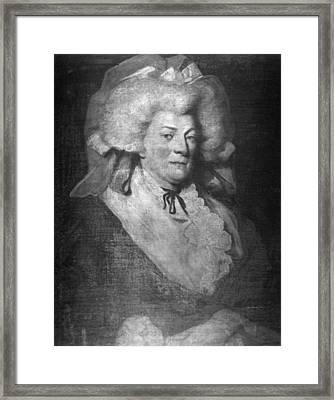 Charles D'eon De Beaumont (1728-1810) Framed Print by Granger