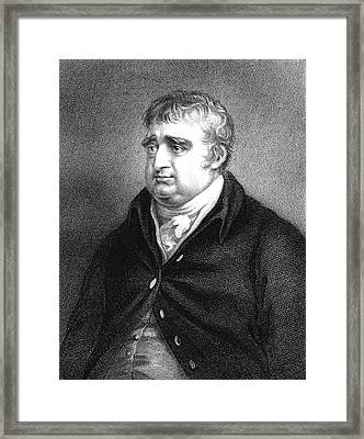 Charles Fox Framed Print by Collection Abecasis