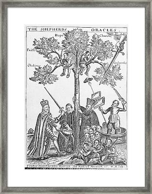 Charles I Framed Print by British Library