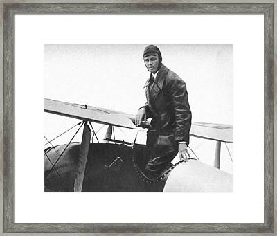 Charles Lindbergh Framed Print by Unknown